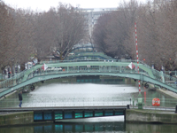 Photo Paris - Le canal Saint Martin : Le canal Saint Martin